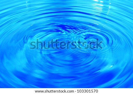 Background water drops.