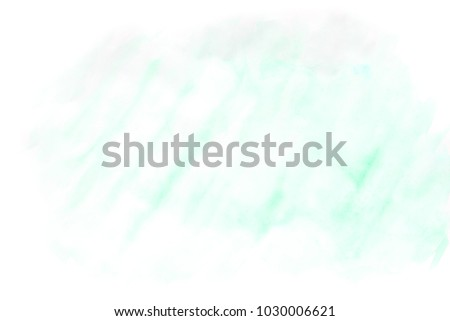 Background watercolor, blue and green. Abstract background texture #1030006621