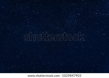 background with a starry dark blue sky and the milky way