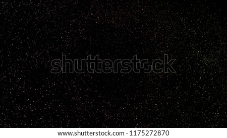 Background with a variety of multicolored stars. Big and small. #1175272870