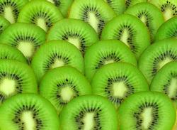 background with beautiful green kiwi