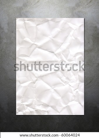 Background with blank poster