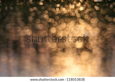 Background with bokeh defocused lights