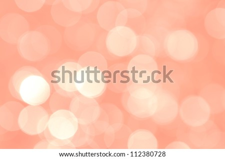 Background with bokeh in red