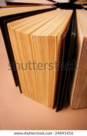 Background with books