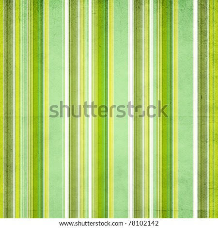 Background with colorful green, yellow  and white stripes - stock photo