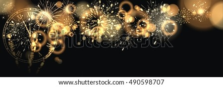 background with fireworks