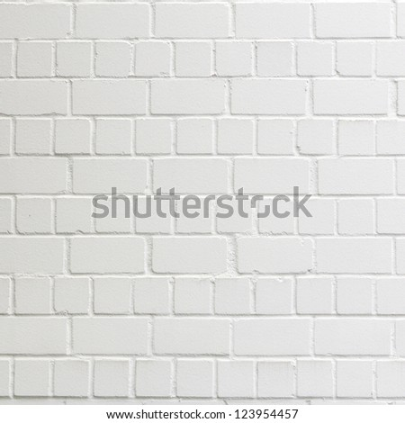 background with fragment of white brick wall