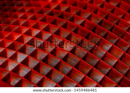 Background with geometric shapes of abstract shape in red #1459486481