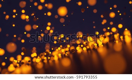 Background with glowing balls #591793355