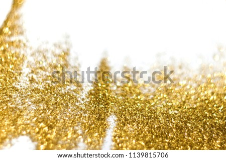 Background with golden shine #1139815706
