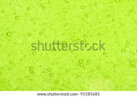 Background with green bubbles. See my portfolio for more