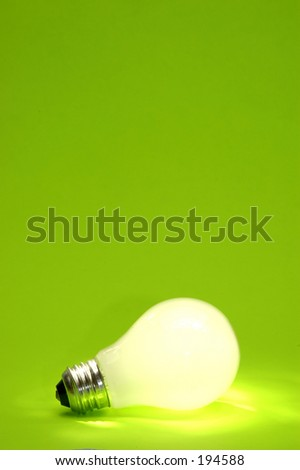 Background with lit lightbulb for designers using the Mannequin 5, 6, and 7 images. series2m