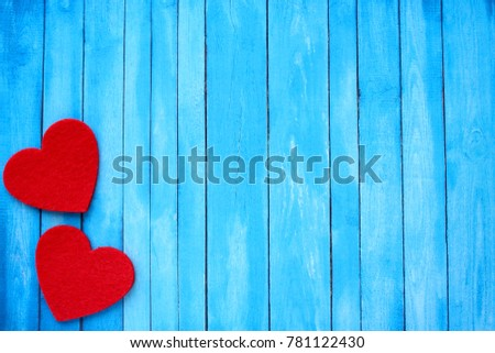 Background with love. Red heart. Happy Valentine`s Day!