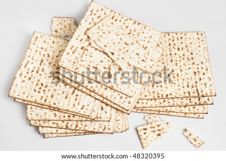 background with matzos