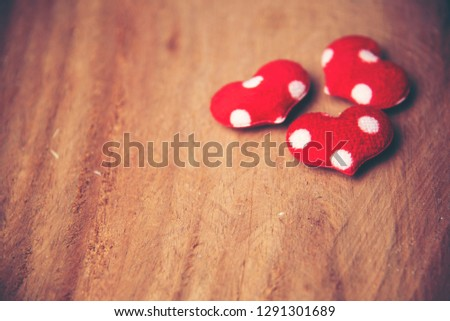 background with red hearts, place for text, Valentine's Day #1291301689
