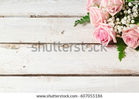 background with rose flowers...