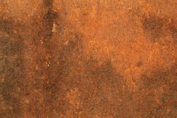 Background with Rust on steel