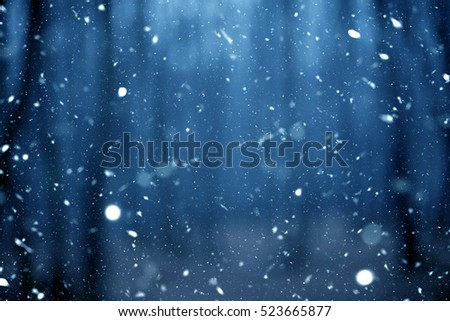 Background with snow