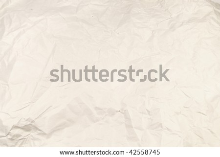 background with the image of rumpled paper