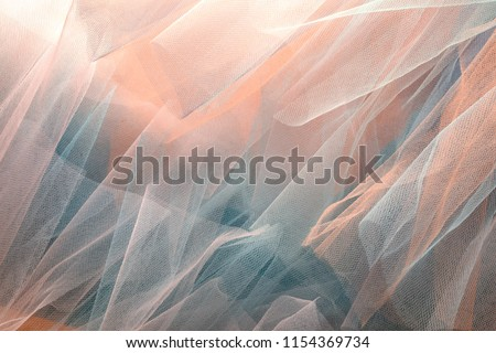 background with transparent organza cloth texture #1154369734