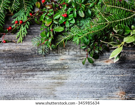 Background with Twigs