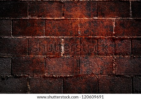 Background with vignetted corners of interior