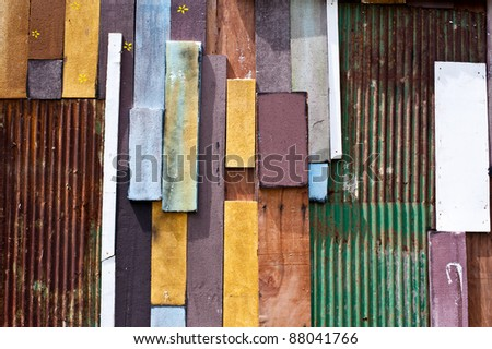 backgrounds of colorful wood