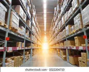 Stock photo for the background.Warehouse for shipping.Warehouse for transportation.