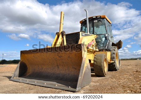 Backhoe Tractor Construction