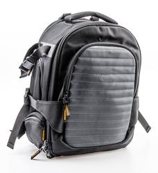 Backpack isolated white background