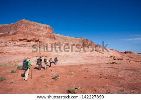 Backpacking in Grand Staircase-escalante National Monument, Utah