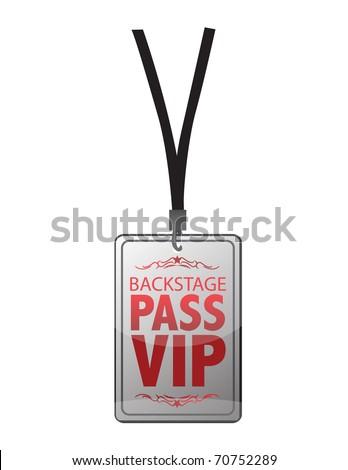 Backstage pass vip