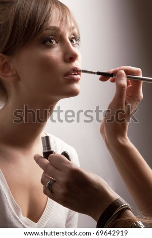 Fashion Hairstyles: makeup artist work