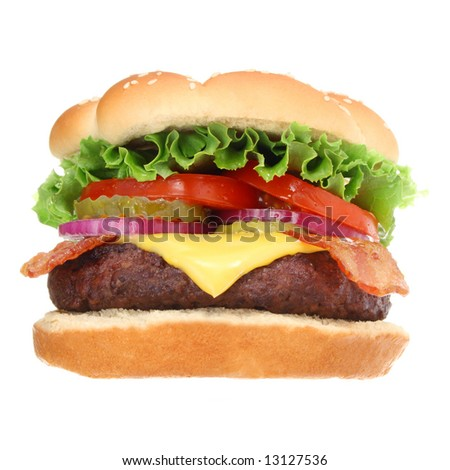 Bacon Cheeseburger Clip Art Bacon cheeseburger hamburgerBacon Cheeseburger Clip Art