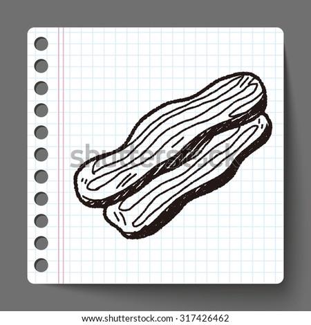 Bacon doodle