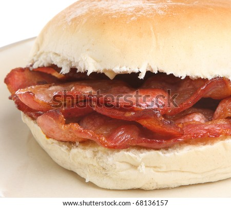 Bacon Roll.