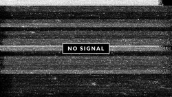Bad channel, no signal, white noise tv screen