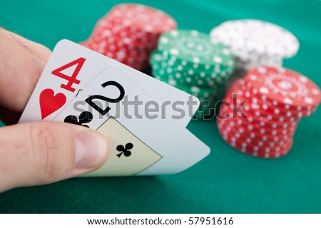 What is a bad poker hand called