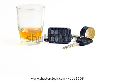 bad idea driving under the influence of alcohol stock photo 73021669