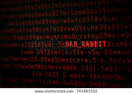BAD RABBIT, New Ransomware attack on Cyber worldwide.