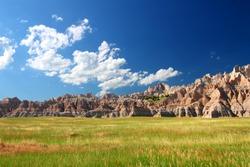 Badands National Park of South Dakota