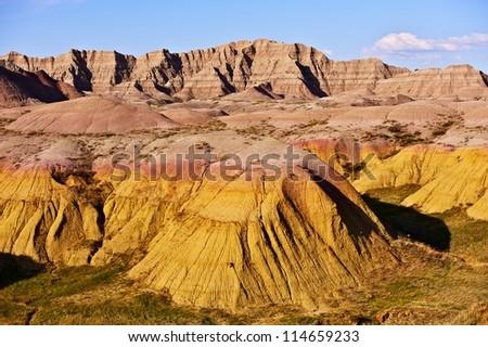 Badlands National Park, South Dakota, USA. Badlands Landscape - Nature Photography Collection