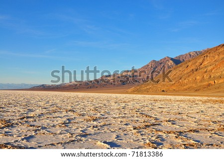 Badwater Basin, Salt Flats, California