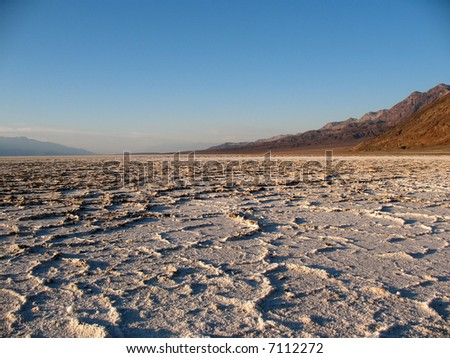 Badwaters, Death Valley, California
