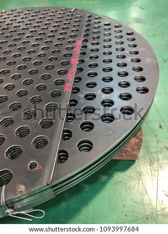 Baffle Shell And Tube Heat Exchanger Pressure Vessel Fabrication