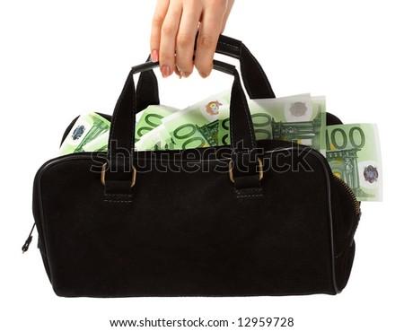 Bag and euro.