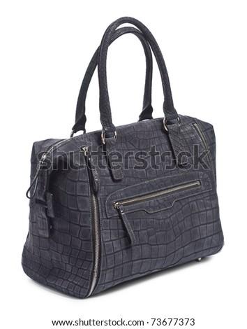 Bag from skin of crocodile