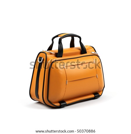 Bag isolated on a white background.