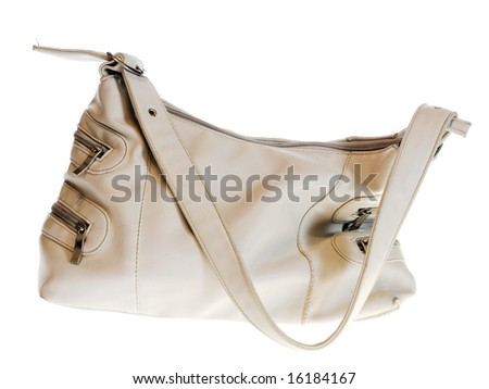 bag isolated on white.